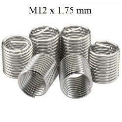 Set de 20 filete helicoil M12 x 1.75 mm