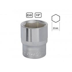 """Tubulara hexagonala scurta 1/2"""" 23mm"""