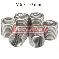 Set de 20 filete helicoil M6 x 1.0 mm