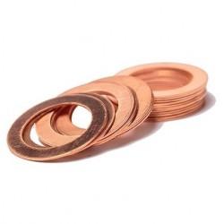 Saibe din cupru pentru injectoare diesel M21 x 25 x 1mm